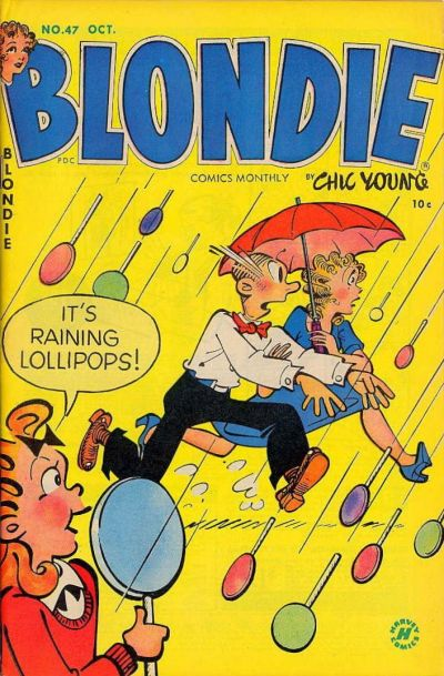 Cover for Blondie Comics Monthly (Harvey, 1950 series) #47
