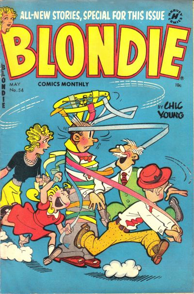 Cover for Blondie Comics Monthly (Harvey, 1950 series) #54