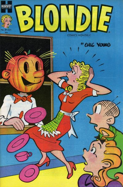 Cover for Blondie Comics Monthly (Harvey, 1950 series) #59