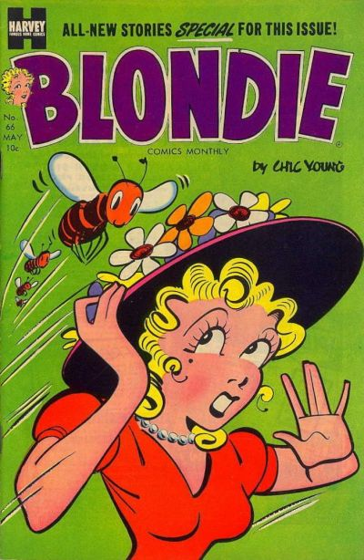 Cover for Blondie Comics Monthly (Harvey, 1950 series) #66