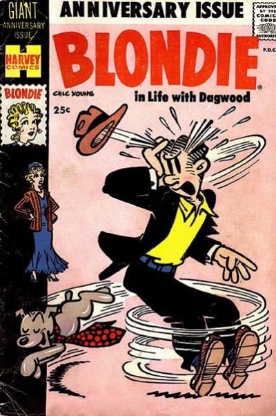 Cover for Blondie Comics Monthly (1950 series) #125