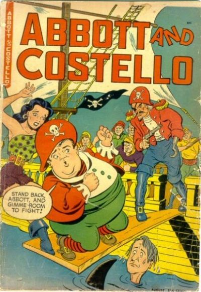 Cover for Abbott and Costello Comics (St. John, 1948 series) #8
