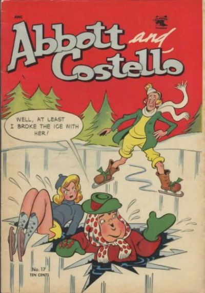 Cover for Abbott and Costello Comics (St. John, 1948 series) #17
