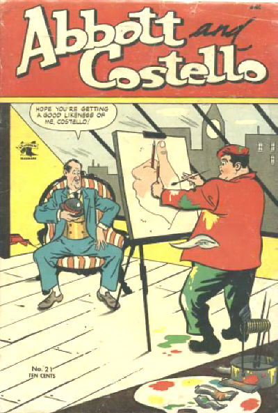 Cover for Abbott and Costello Comics (St. John, 1948 series) #21