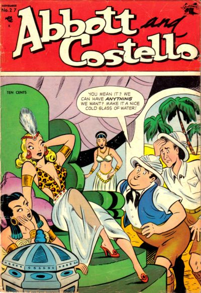 Cover for Abbott and Costello Comics (St. John, 1948 series) #27