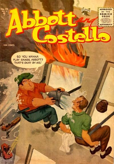 Cover for Abbott and Costello Comics (1948 series) #29