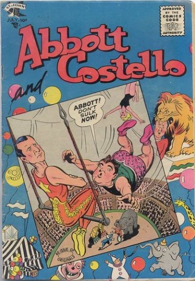 Cover for Abbott and Costello Comics (St. John, 1948 series) #39