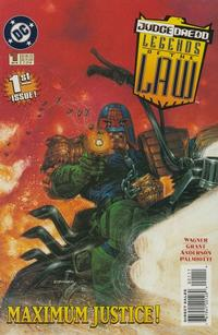 Cover Thumbnail for Judge Dredd: Legends of the Law (DC, 1994 series) #1