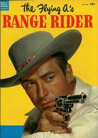 Cover for The Flying A's Range Rider (Dell, 1953 series) #4