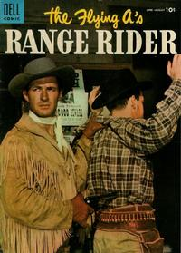 Cover Thumbnail for The Flying A's Range Rider (Dell, 1953 series) #10