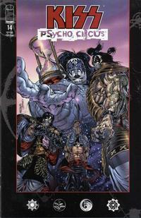 Cover Thumbnail for Kiss: Psycho Circus (Image, 1997 series) #14