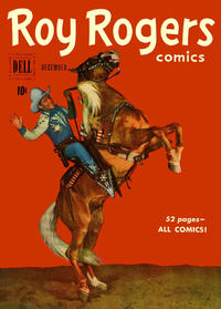 Cover Thumbnail for Roy Rogers Comics (Dell, 1948 series) #36