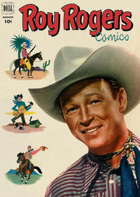 Cover Thumbnail for Roy Rogers Comics (Dell, 1948 series) #56