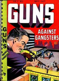 Cover Thumbnail for Guns Against Gangsters (Novelty / Premium / Curtis, 1948 series) #v2#1 [7]