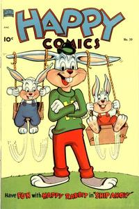Cover Thumbnail for Happy Comics (Better Publications of Canada, 1950 series) #39
