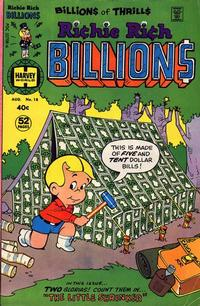 Cover Thumbnail for Richie Rich Billions (Harvey, 1974 series) #18