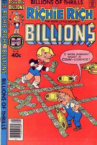 Cover Thumbnail for Richie Rich Billions (Harvey, 1974 series) #35