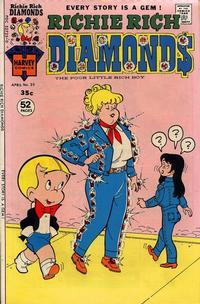 Cover Thumbnail for Richie Rich Diamonds (Harvey, 1972 series) #23