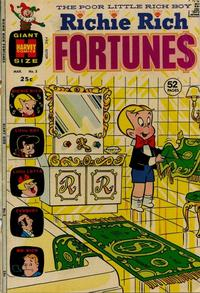Cover Thumbnail for Richie Rich Fortunes (Harvey, 1971 series) #3