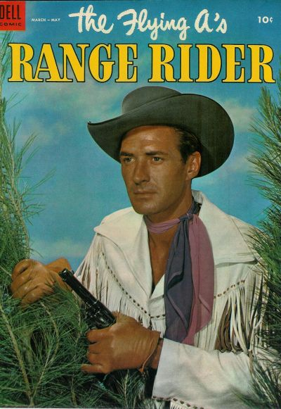 Cover for The Flying A's Range Rider (1953 series) #5