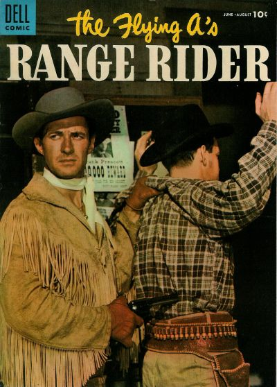 Cover for The Flying A&#39;s Range Rider (1953 series) #10