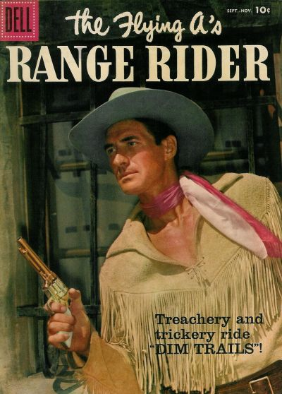 Cover for The Flying A's Range Rider (Dell, 1953 series) #19