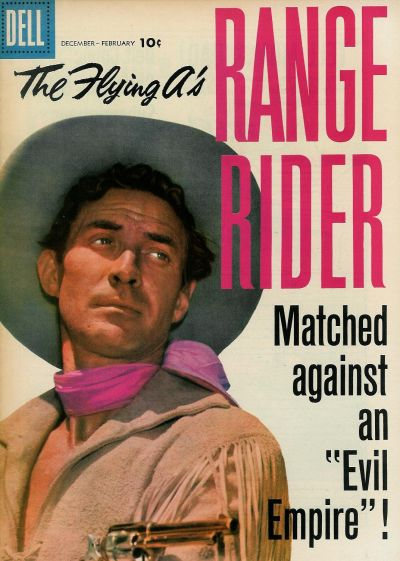 Cover for The Flying A's Range Rider (Dell, 1953 series) #20