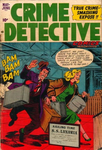 Cover for Crime Detective Comics (1948 series) #v3#8
