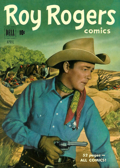 Cover for Roy Rogers Comics (1948 series) #40