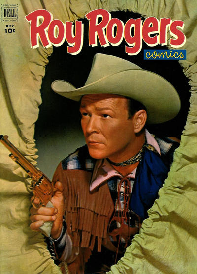 Cover for Roy Rogers Comics (Dell, 1948 series) #55