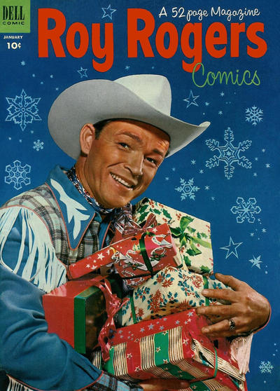 Cover for Roy Rogers Comics (Dell, 1948 series) #61