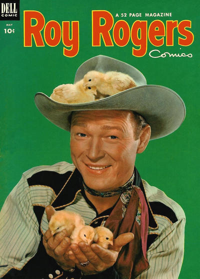 Cover for Roy Rogers Comics (Dell, 1948 series) #65