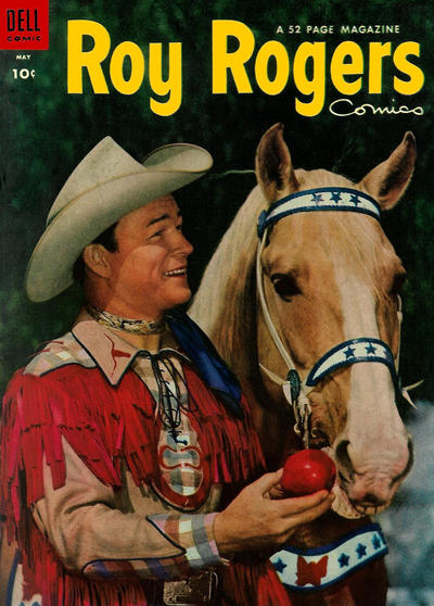 Cover for Roy Rogers Comics (Dell, 1948 series) #77
