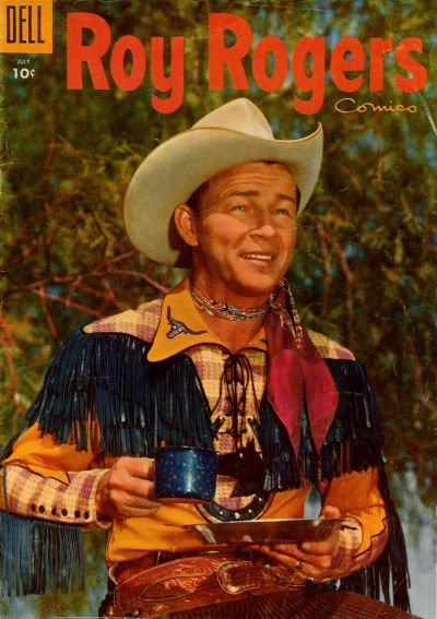 Cover for Roy Rogers Comics (Dell, 1948 series) #91