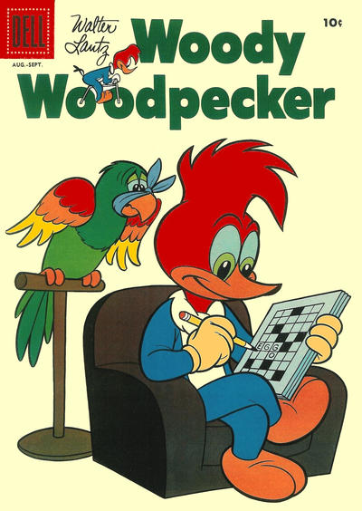 Cover for Walter Lantz Woody Woodpecker (1952 series) #50
