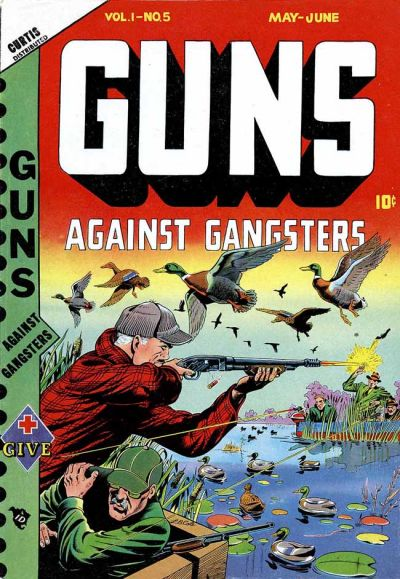 Cover for Guns Against Gangsters (Novelty Press, 1948 series) #v1#5 [5]