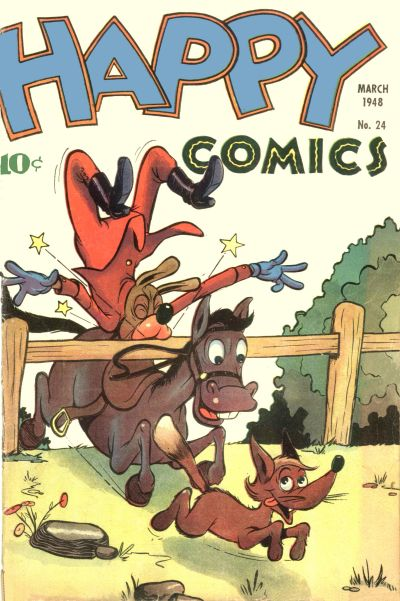 Cover for Happy Comics (Standard, 1943 series) #24