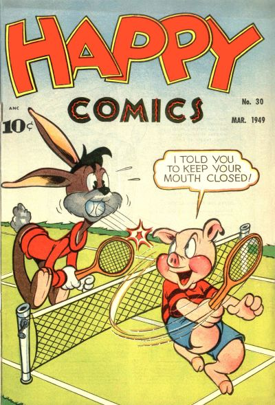 Cover for Happy Comics (Pines, 1943 series) #30