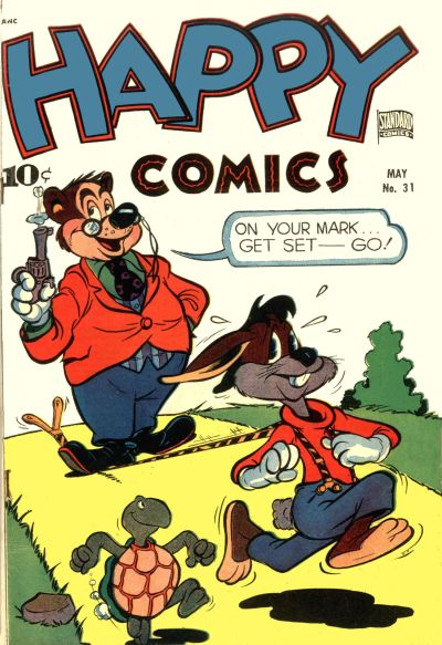 Cover for Happy Comics (Standard, 1943 series) #31