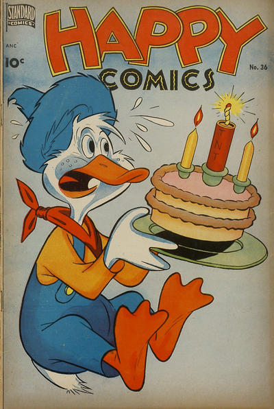 Cover for Happy Comics (Standard, 1943 series) #36