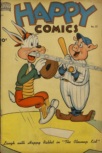Cover for Happy Comics (Standard, 1943 series) #37