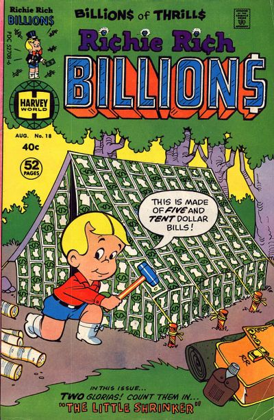 Cover for Richie Rich Billions (1974 series) #18