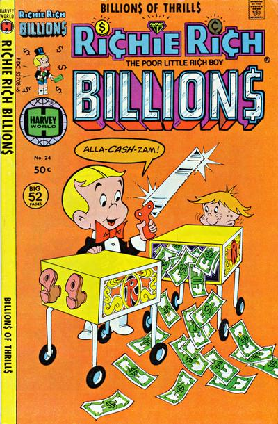 Cover for Richie Rich Billions (Harvey, 1974 series) #24