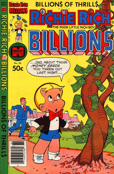 Cover for Richie Rich Billions (Harvey, 1974 series) #38