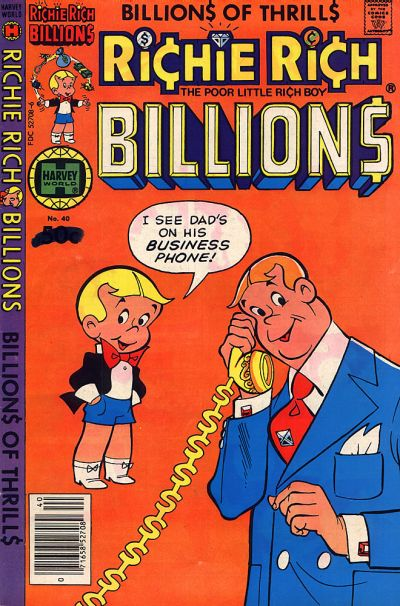 Cover for Richie Rich Billions (Harvey, 1974 series) #40