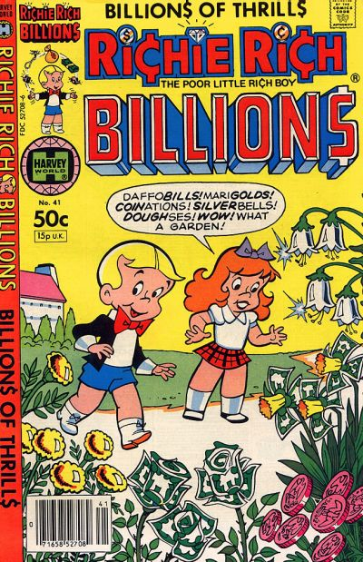 Cover for Richie Rich Billions (1974 series) #41