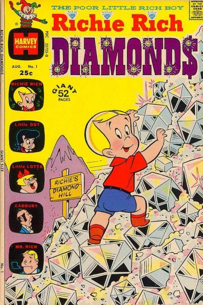 Cover for Richie Rich Diamonds (Harvey, 1972 series) #1