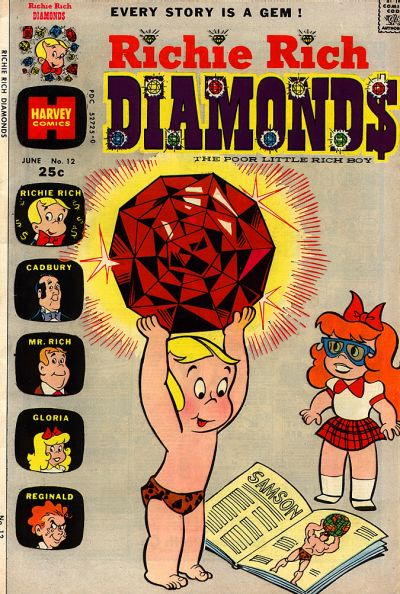 Cover for Richie Rich Diamonds (Harvey, 1972 series) #12