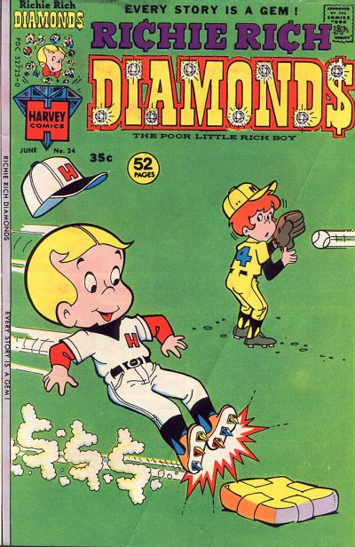 Cover for Richie Rich Diamonds (1972 series) #24