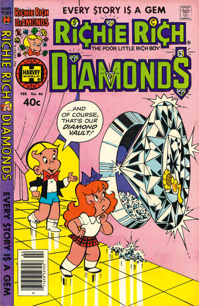 Cover for Richie Rich Diamonds (Harvey, 1972 series) #46
